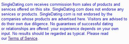 Dating service affiliate programs